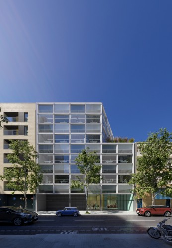 Grupo castellv edificio de oficinas wip for Oficinas cam